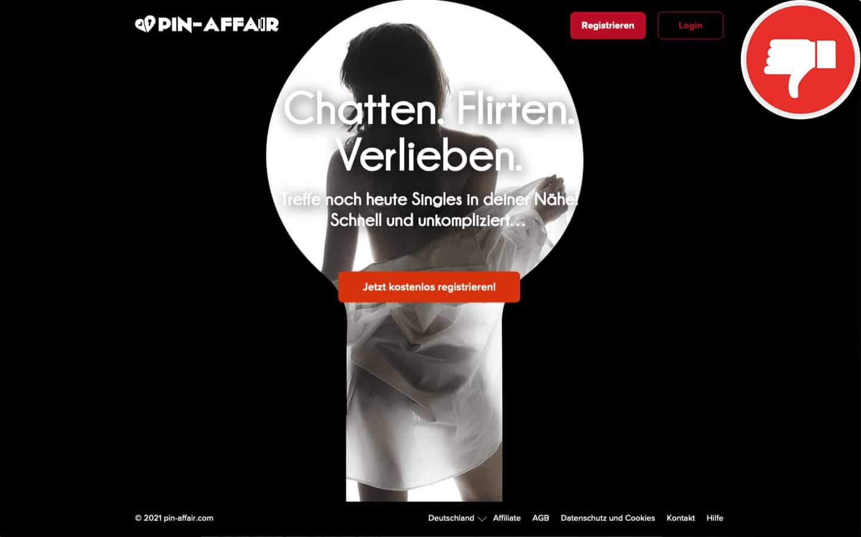Pin-Affair.com Erfahrungen Abzocke