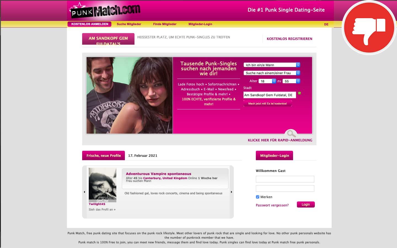 Testbericht PunkMatch.com Abzocke