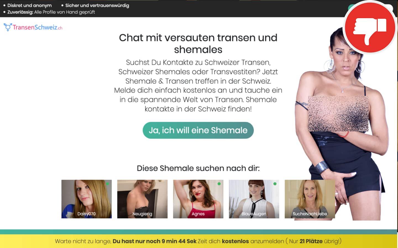 Testbericht TransenSchweiz.ch Abzocke