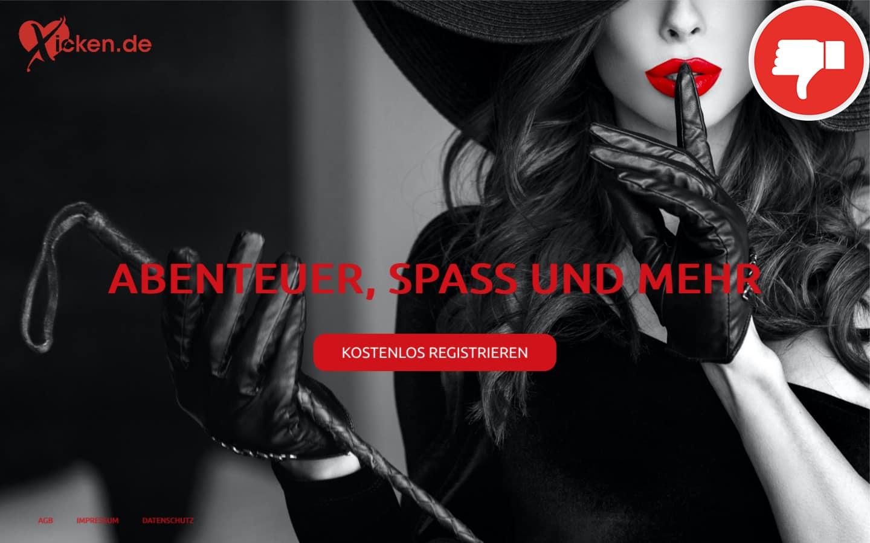 Testbericht Xicken.de Abzocke
