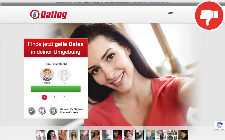 6-Dating.com Erfahrungen Abzocke