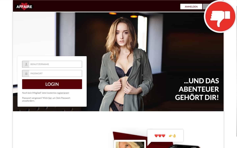 Affaire.com Erfahrungen Abzocke | April 2021