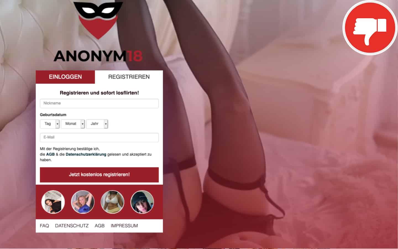 Anonym18.de Erfahrungen Abzocke