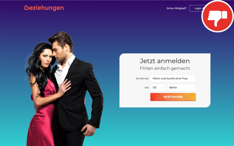 Beziehungen.com Erfahrungen Abzocke