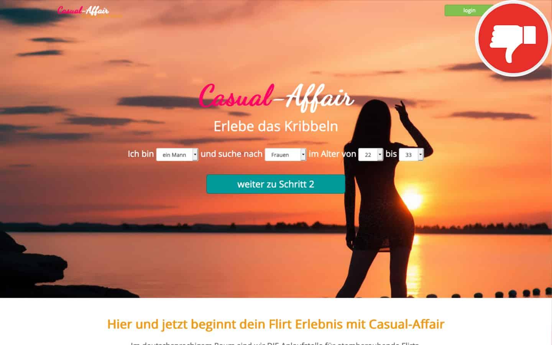 Casual-Affair.com Erfahrungen Abzocke
