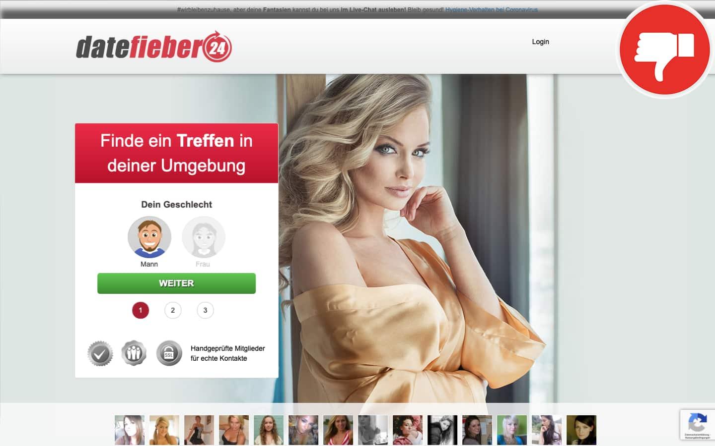 DateFieber24.com Erfahrungen Abzocke