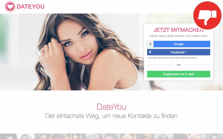 DateYou.com Erfahrungen Abzocke