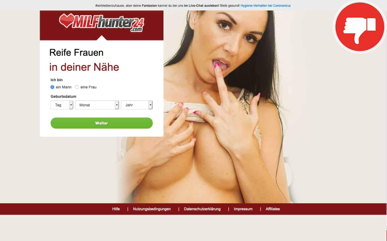 Testbericht MilfHunter24.com Abzocke