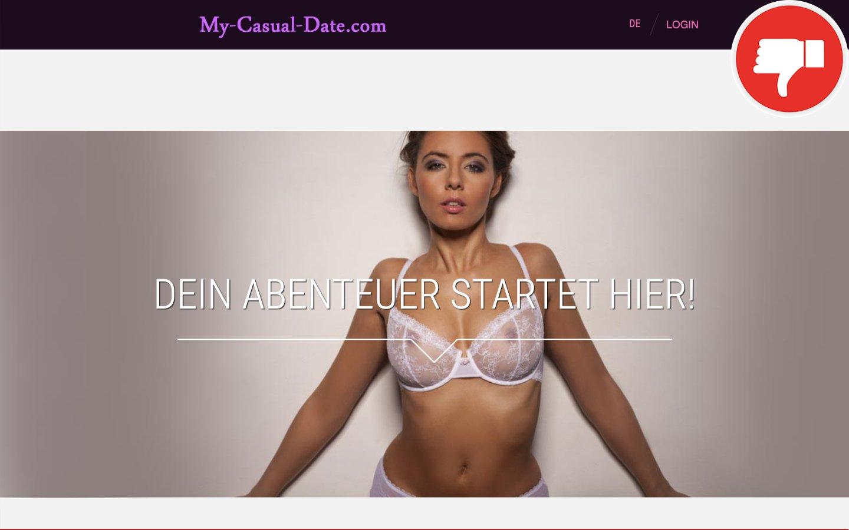 My-Casual-Date.com Erfahrungen Abzocke