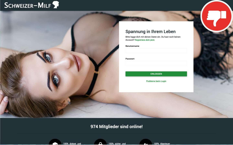 Schweizer-Milf.com Erfahrungen Abzocke
