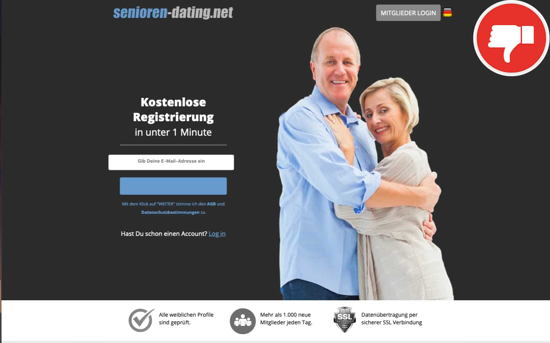 Senioren-Dating.net Erfahrungen Abzocke