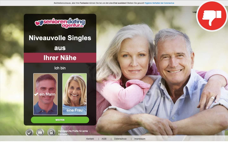 Testbericht SeniorenDatingAgentur.de Abzocke