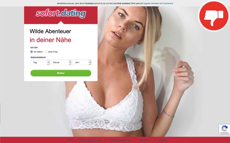 Testbericht Sofort.dating Abzocke