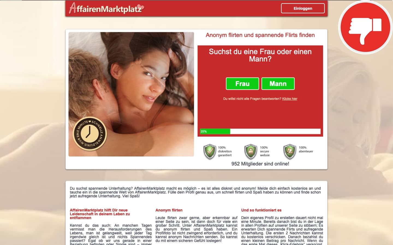 AffairenMarktplatz.com Erfahrungen Abzocke