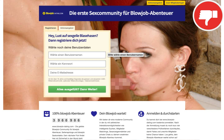 Blowjob-Dating.com Erfahrungen Abzocke