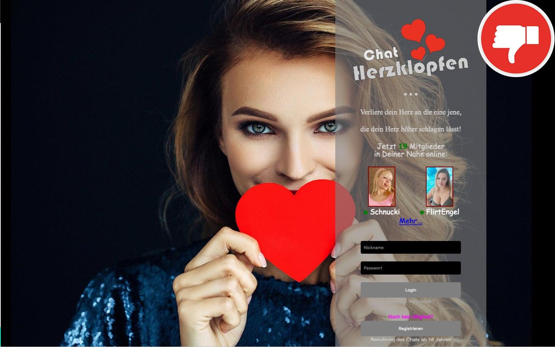 Testbericht Chat-Herzklopfen.de Abzocke