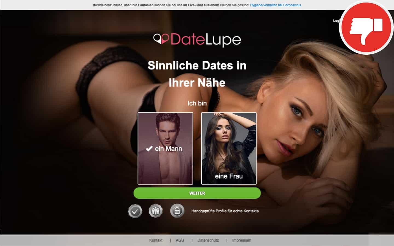 DateLupe.de Erfahrungen Abzocke