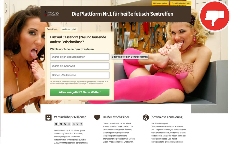 FetischSexKontakte.com Erfahrungen Abzocke