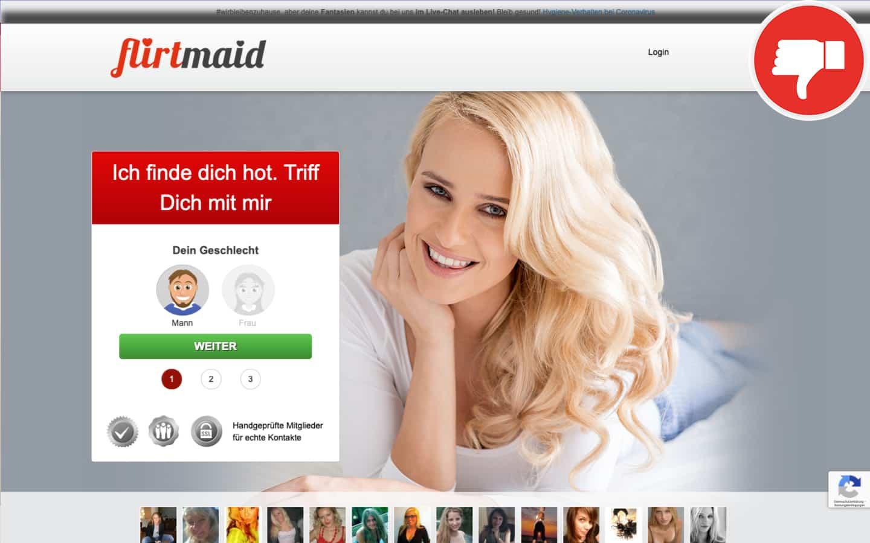FlirtMaid.com Erfahrungen Abzocke