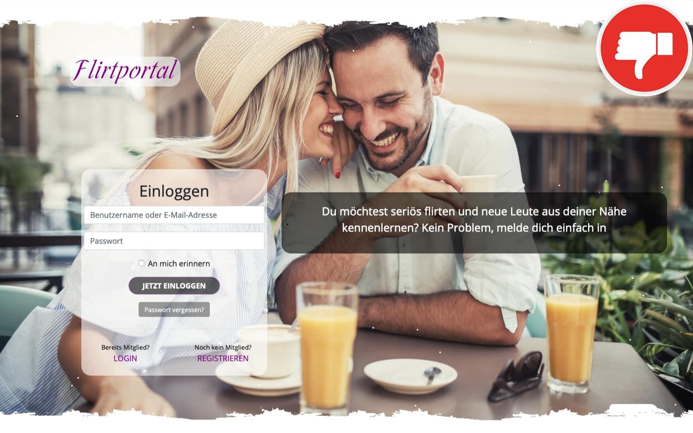 FlirtPortal.net Erfahrungen Abzocke