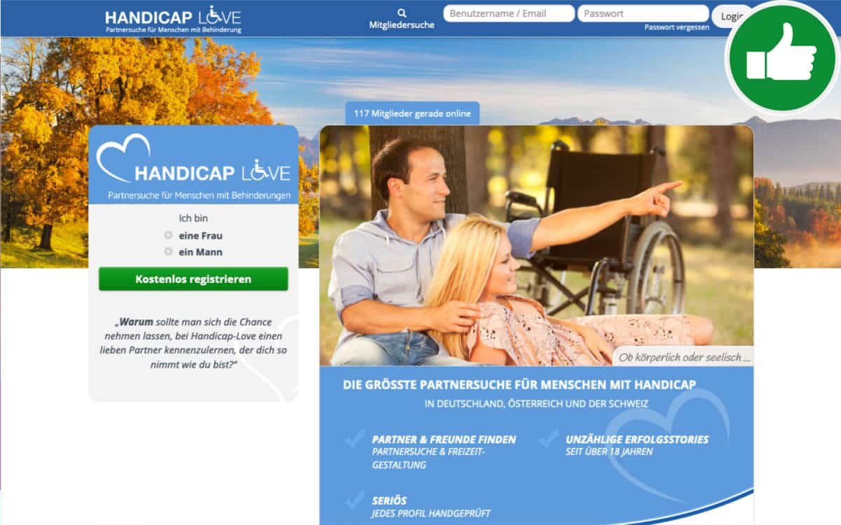Dating portal für menschen mit behinderung
