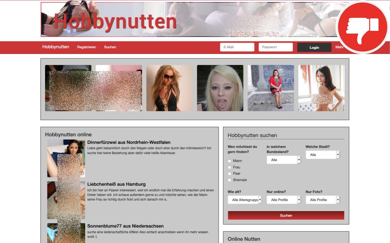 Testbericht HobbyNutten.eu Abzocke