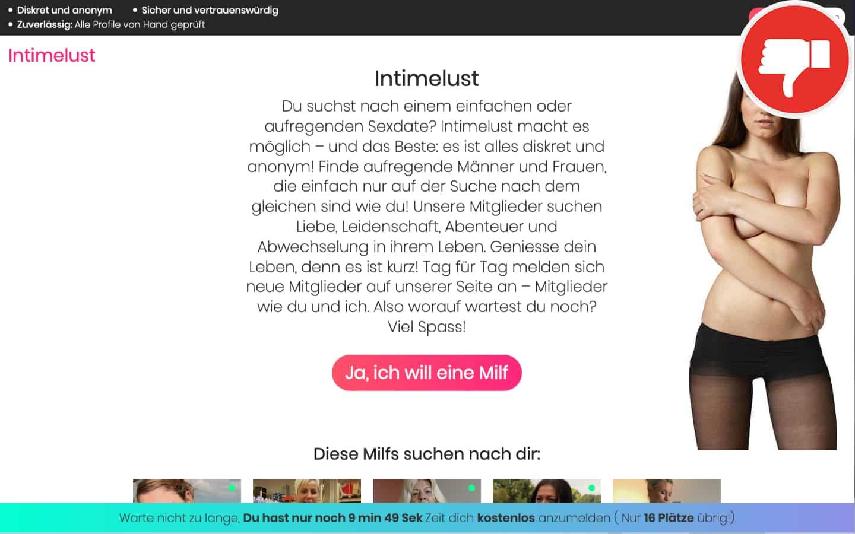 IntimeLust.com Erfahrungen Abzocke