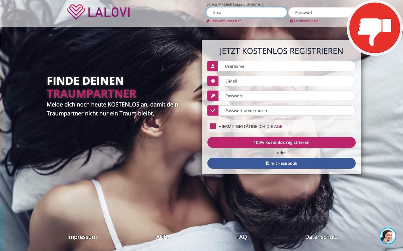 LaLovi.de Erfahrungen Abzocke