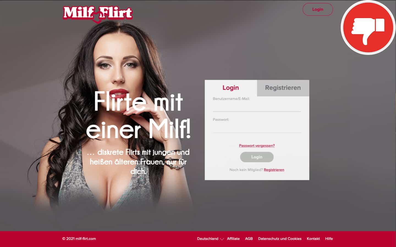 Milf-Flirt.com Erfahrungen Abzocke | Mai 2021