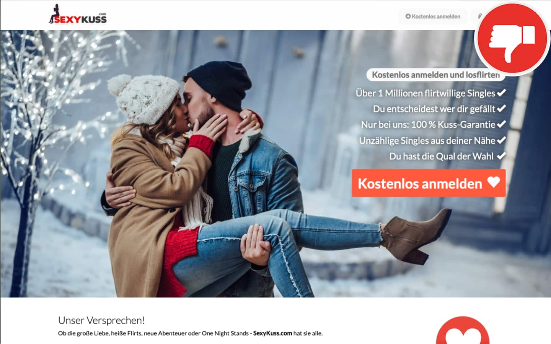 Testbericht Sexy-Kuss.com Abzocke