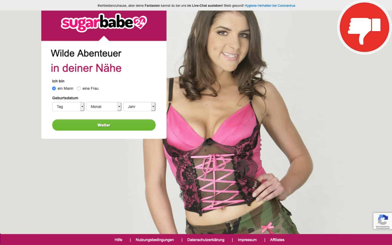 TestberichtSugarBabe24.com Abzocke