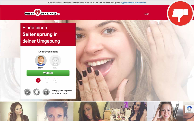 Testbericht UnserGeheimnis.at Abzocke