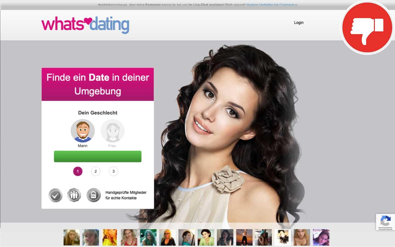 Whats-Dating.net Erfahrungen Abzocke