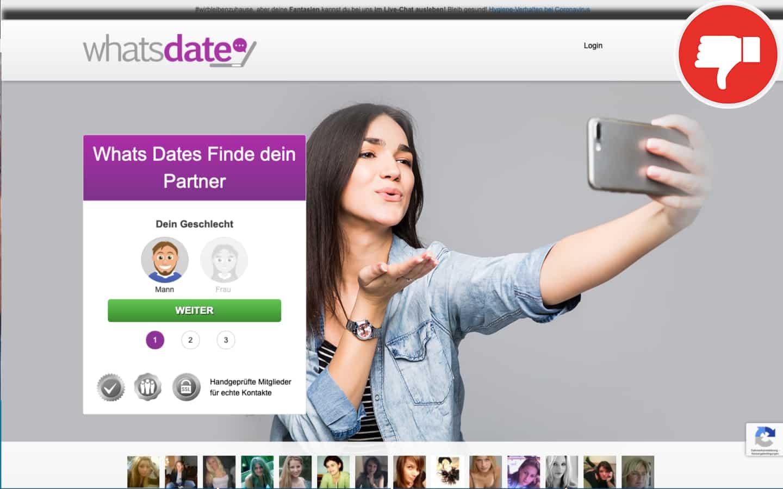 WhatsDate.net Erfahrungen Abzocke