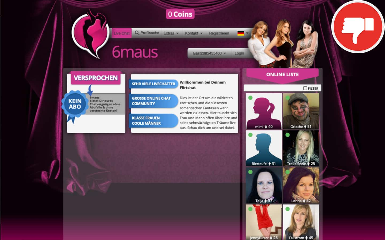 Testbericht 6Maus.com Abzocke