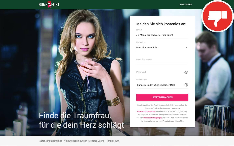 BumsFlirt.de Erfahrungen Abzocke