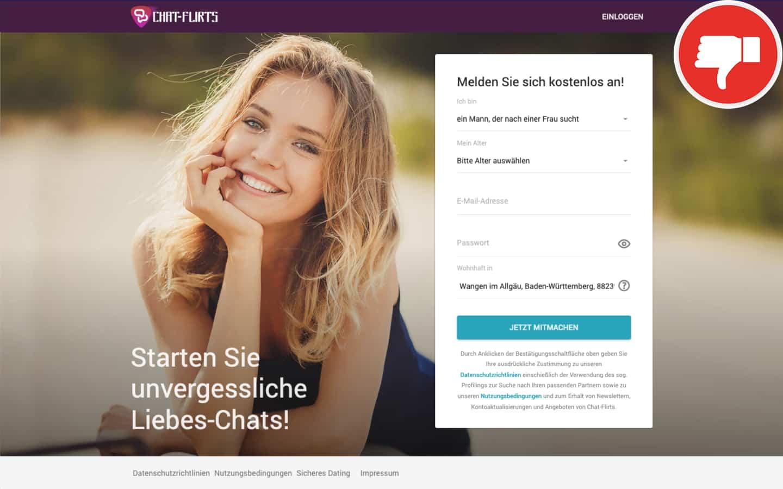 Testbericht Chat-Flirts.de Abzocke