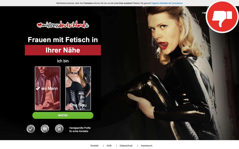 Mistress-Deutschland.de Erfahrungen Abzocke