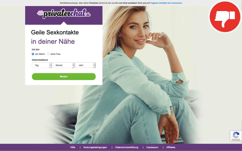 PrivaterChat.de Erfahrungen Abzocke