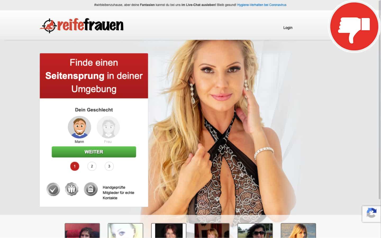 Testbericht ReifeFrauen.love Abzocke