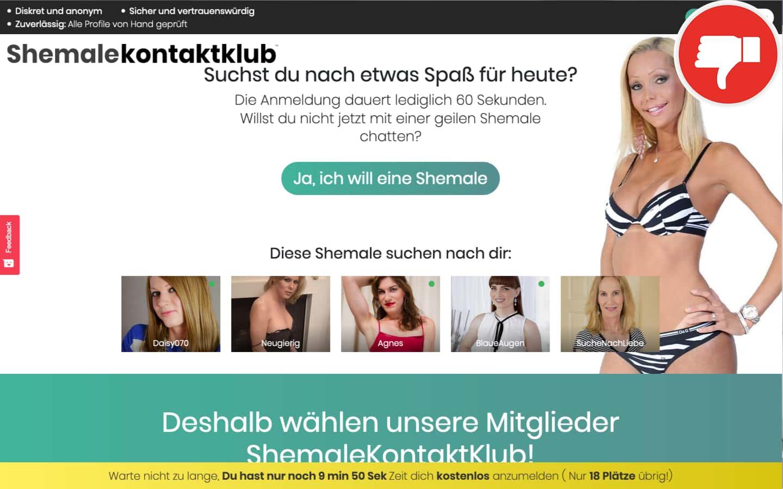Testbericht ShemaleKontaktKlub.com Abzocke