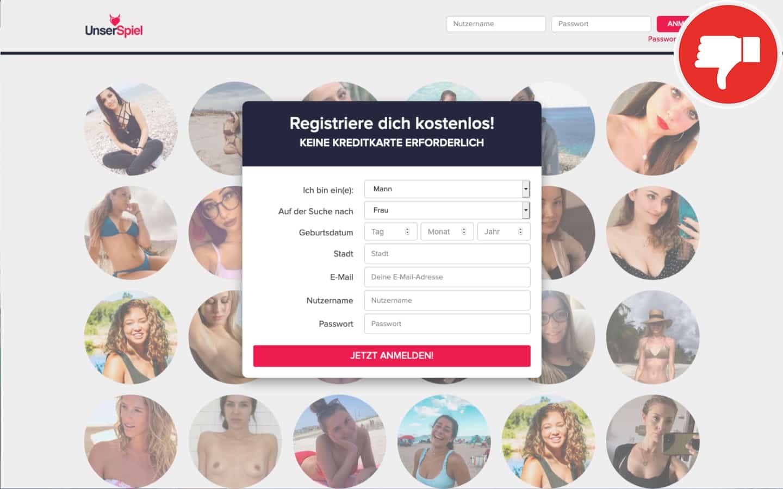 UnserSpiel.com Erfahrungen Abzocke