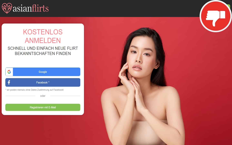 Testbericht AsianFlirts.com Abzocke