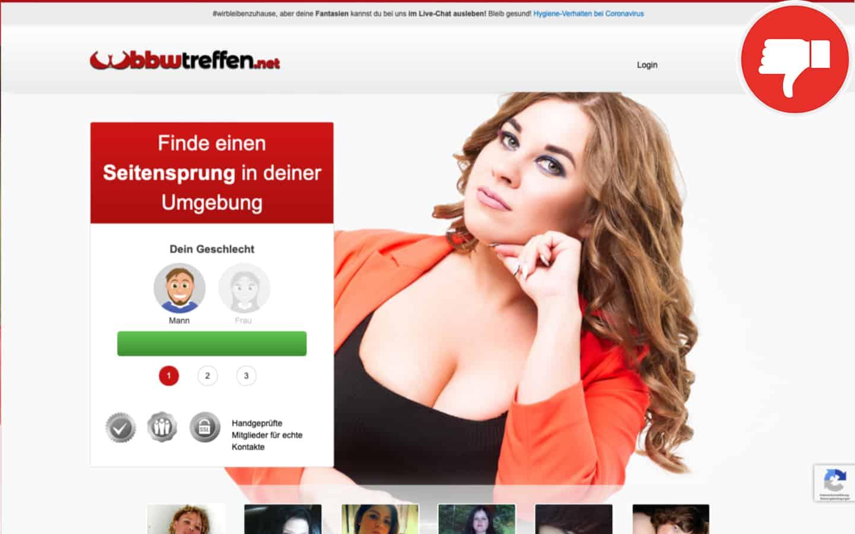 BBWTreffen.net Erfahrungen Abzocke