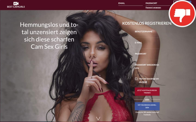 Testbericht Best-Camgirls.com Abzocke