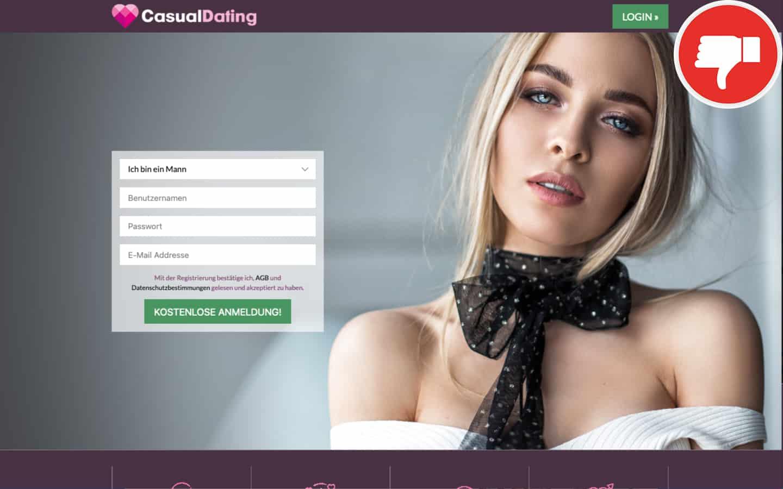 CasualDating.com Erfahrungen Abzocke