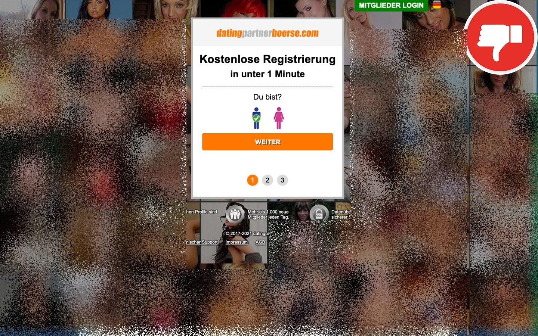 DatingPartnerboerse.com Erfahrungen Abzocke
