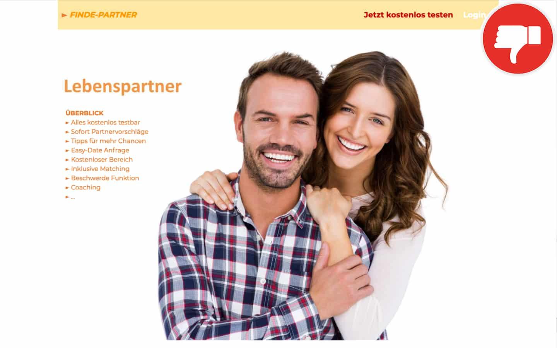 Finde-Partner.com Erfahrungen Abzocke