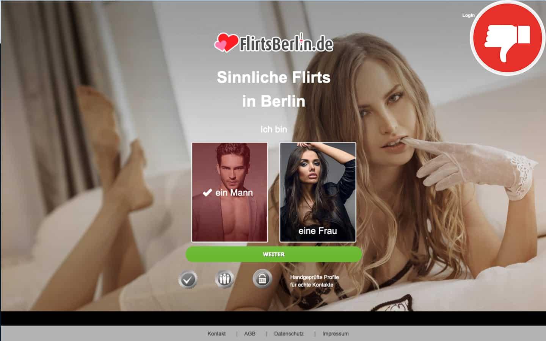 FlirtsBerlin.de Erfahrungen Abzocke