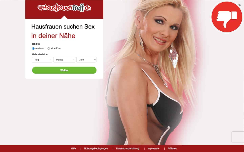 HausfrauenTreff.ch Erfahrungen Abzocke